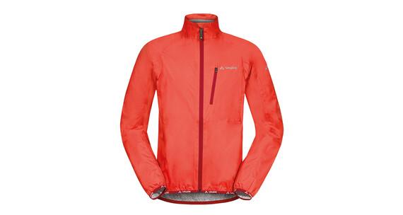 VAUDE Drop III Jacket Men glowing red